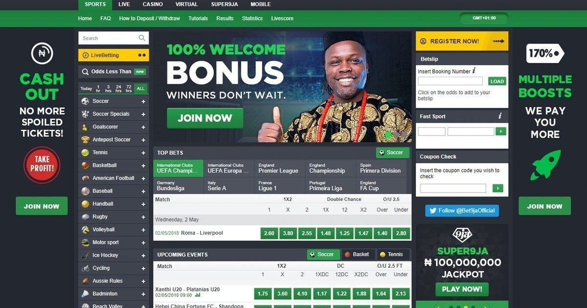 bet9ja home