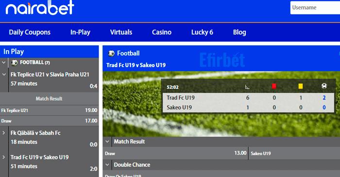 nairabet live betting