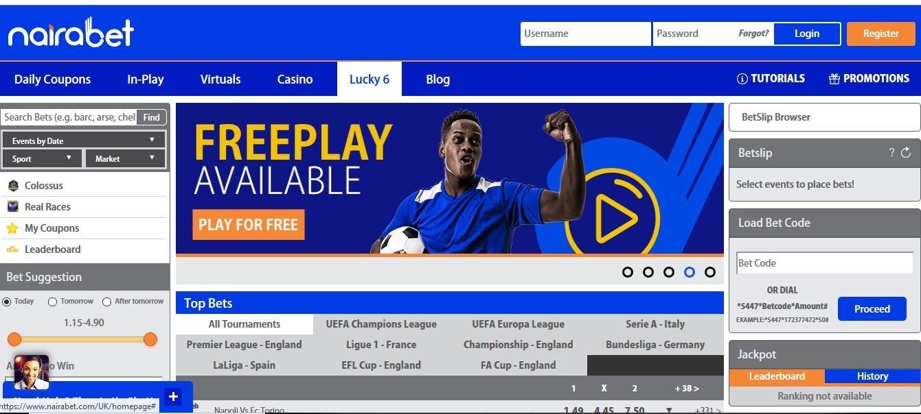 NairaBet- Nigeriabet24