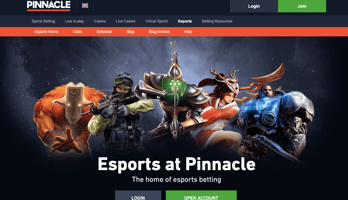 pinnacle esports
