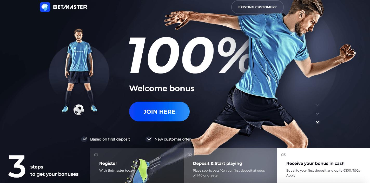 betmaster nigeria bonus