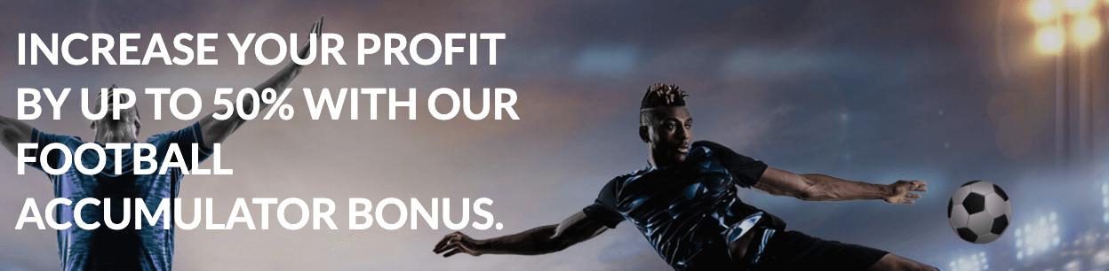 bonkersbet Football Accumulator Bonus