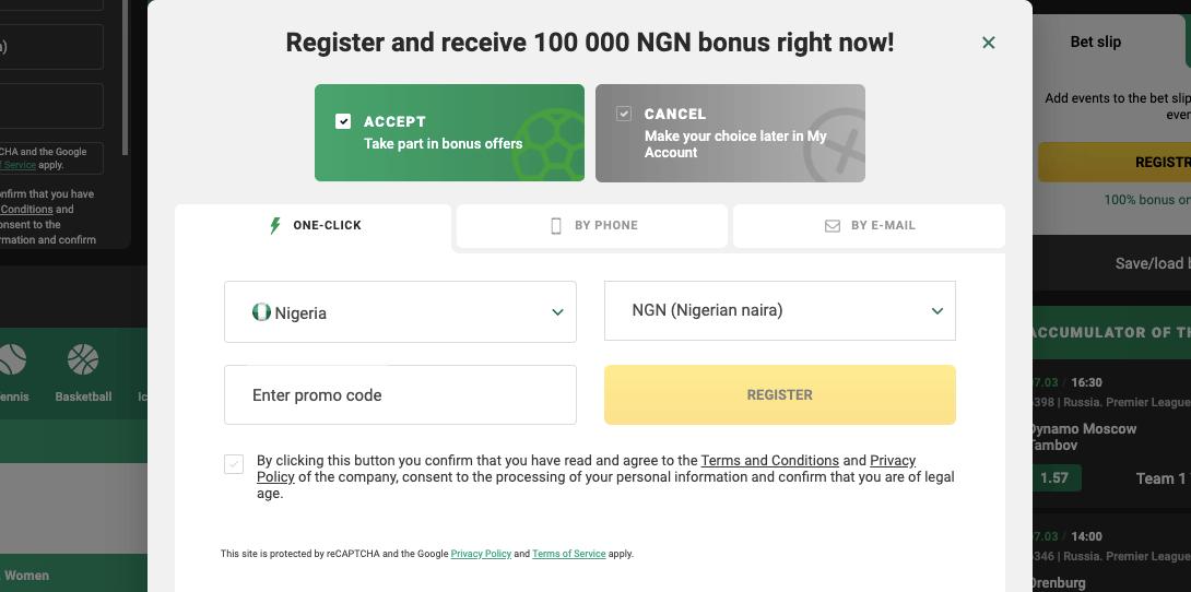 betwinner registration