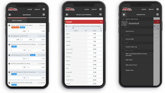 intertops mobile app