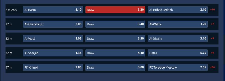 tornadobet odds betting
