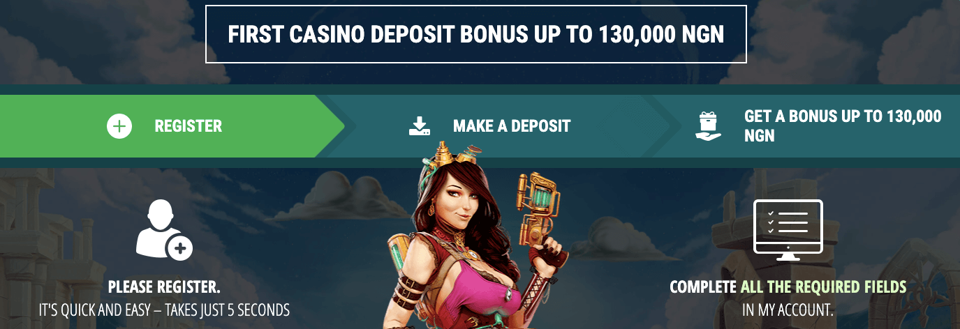 22BetCasino Welcome bonus