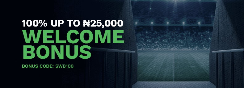 SureBet247 nigeria welcome bonus