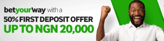 betway nigeria welcome bonus