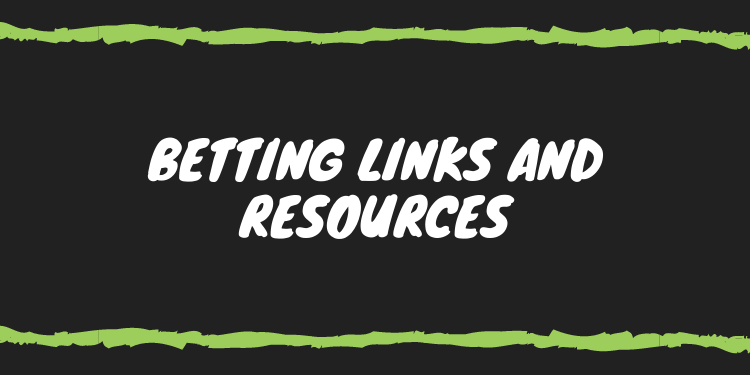 the betting links and resources on the internet