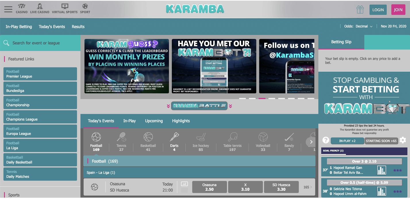 Karamba Homepage