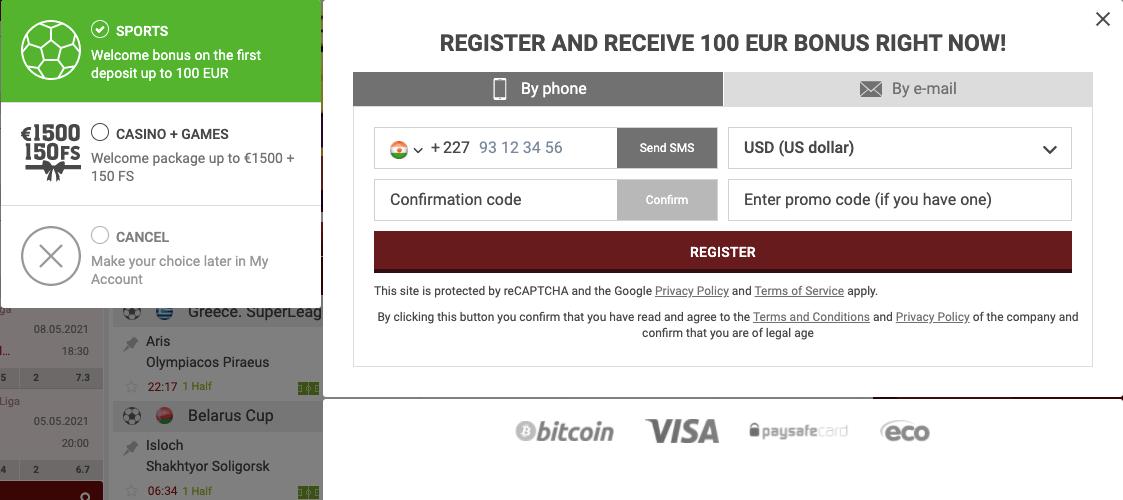888Starz Register